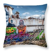 Captain Jack Throw Pillow