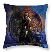 Captain Persephone II Throw Pillow