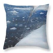 Captain Scott Antarcticas First Aeronaut Throw Pillow