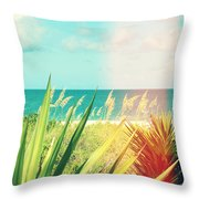 Captiva Photography Light Leaks1 Throw Pillow