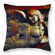 Captive In Stone Throw Pillow