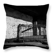 Captivity Defied Liberty Attained Throw Pillow