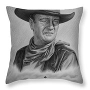 Captured Bw Version Throw Pillow