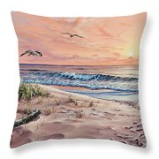 Captured In The Morning Light Throw Pillow
