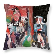 Capturing The Party Throw Pillow