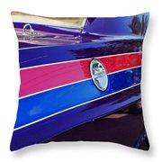 Car Colors Throw Pillow