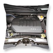Car Engine Throw Pillow