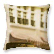 Car In Miniature Throw Pillow