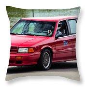 Car No. 34 - 02 Throw Pillow