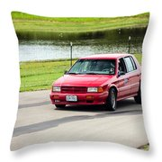 Car No. 34 - 03 Throw Pillow