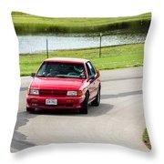 Car No. 34 - 04 Throw Pillow