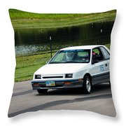 Car No. 35 - 03 Throw Pillow