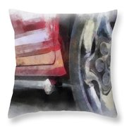 Car Rims 02 Photo Art 01 Throw Pillow