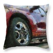 Car Rims 04 Photo Art 03 Throw Pillow