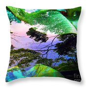 Car Seven Throw Pillow