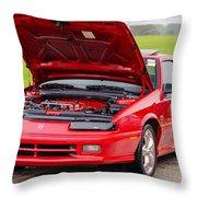 Car Show 021 Throw Pillow