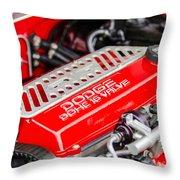Car Show 025 Throw Pillow