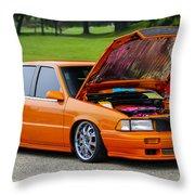 Car Show 026 Throw Pillow
