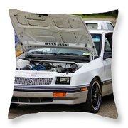 Car Show 029 Throw Pillow
