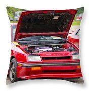 Car Show 030 Throw Pillow