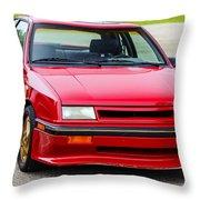 Car Show 032 Throw Pillow