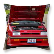 Car Show 037 Throw Pillow