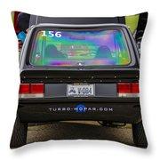 Car Show 038 Throw Pillow