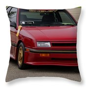 Car Show 040 Throw Pillow