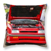 Car Show 041 Throw Pillow