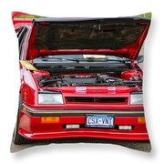 Car Show 042 Throw Pillow