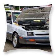 Car Show 045 Throw Pillow