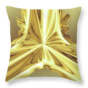Caramel Pendant Throw Pillow