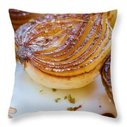 Caramelized Balsamic Onions Throw Pillow