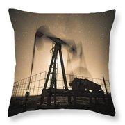 Carbon Footprint #3 Throw Pillow