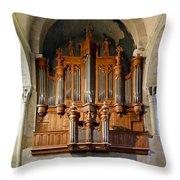 Carcassonne Organ Throw Pillow