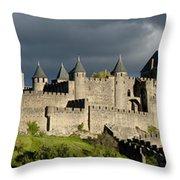 Carcassonne Panorama Throw Pillow