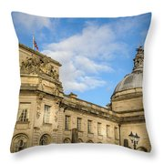 Cardiff City Hall Throw Pillow