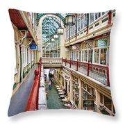 Cardiff Wyndham Arcade 8278 Throw Pillow