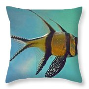 Cardinalfish Throw Pillow