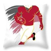 Cardinals Shadow Player2 Throw Pillow