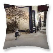 Care Of Children Throw Pillow