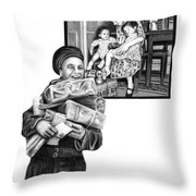 Care Package     Throw Pillow