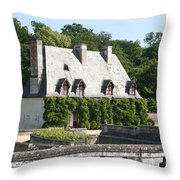 Caretakers Home Throw Pillow