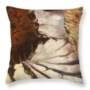 Carew Castle Turret Steps Throw Pillow