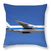 Cargo Plane Throw Pillow
