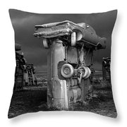 Carhenge 3 Throw Pillow