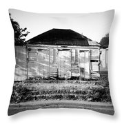 Caribbean Architecture Throw Pillow
