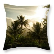 Caribbean Daybreak Throw Pillow
