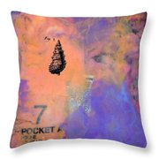 Caribbean Dreams 2 Dyptich Throw Pillow