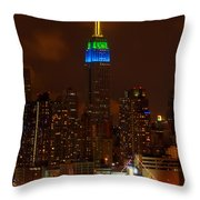 Caribbean Week Throw Pillow